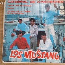 Discos de vinilo: ** LOS MUSTANG - CATEDRAL DE WINCHESTER / VERAS QUE ES VERDAD + 2 - EP AÑO 1967 - LEER DESCRIPCIÓN. Lote 253882405