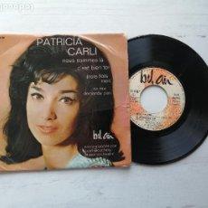 Discos de vinilo: PATRICIA CARLI – NOUS SOMMES LÀ + 3 EP FRANCIA 1964 VG/VG. Lote 253882815