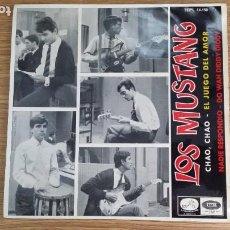 Discos de vinilo: ** LOS MUSTANG - CHAO, CHAO / EL JUEGO DEL AMOR + 2 - EP AÑO 1965 - LEER DESCRIPCIÓN. Lote 253883255