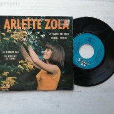Discos de vinilo: ARLETTE ZOLA – JE N'AIME QUE VOUS + 3 EP FRANCIA 1967 VINILO NM/PORTADA VG++. Lote 253883695