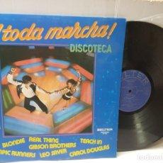 Discos de vinilo: DISCO EPS 33 1/3-A TODA MARCHA- DISCOTECA EN FUNDA ORIGINAL 1980. Lote 253884130