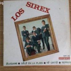Discos de vinilo: ** LOS SIREX - OLVIDAME / YO GRITO / SOLO EN LA PLAYA / REPRISE - EP AÑO 1966 - LEER DESCRIPCIÓN. Lote 253886035