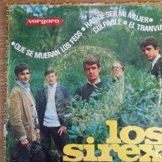 Discos de vinilo: ** LOS SIREX - QUE SE MUERAN LOS FEOS / CULPABLE + 2 - EP AÑO 1965 - LEER DESCRIPCIÓN. Lote 253886570