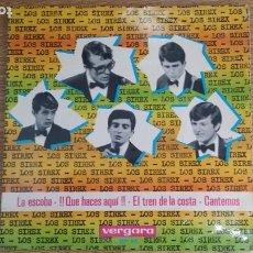 Discos de vinilo: ** LOS SIREX - LA ESCOBA / EL TREN DE LA COSTA / QUE HACES AQUÍ + 1 - EP AÑO 1965 - LEER DESCRIPCIÓN. Lote 253887345