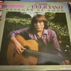 Discos de vinilo: JOSÉ FELICIANO - ESCENAS DE AMOR (LP, ALBUM, SON) SELLO:MOTOWN SPL1-60004.BUEN ESTADO.NEAR MINT/VG+. Lote 253887480