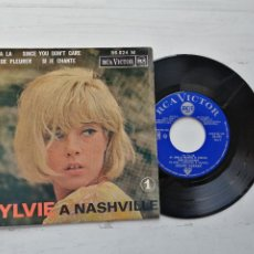 Discos de vinilo: SYLVIE* – SYLVIE À NASHVILLE 1 EP FRANCIA 1964 EX/EX. Lote 253888085