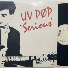 Discos de vinilo: MAXI UV POP SERIOUS EDICIÓN ESPAÑOLA DE 1987. Lote 253892820