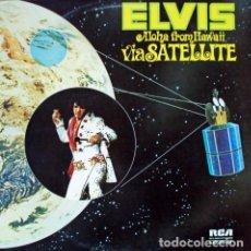 Discos de vinilo: ELVIS PRESLEY ELVIS ALOHA FROM HAWAII VIA SATELLITE RCA193. Lote 253894960