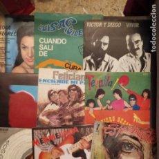 Disques de vinyle: LOTE 27 DISCOS SG/EP DE ARTISTAS Y GRUPOS ESPAÑOLES AÑOS 60-70-80,ENVIO CERTIFICADO PENINSULA 6 EUR. Lote 253895550