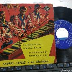 Discos de vinilo: ANDRES CAÑAS EP ZANDUNGA + 3 ESPAÑA. Lote 253899795