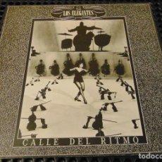 Discos de vinilo: LOS ELEGANTES – CALLE DEL RITMO - MAXISINGLE 1983. Lote 253897660