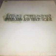 Discos de vinilo: KING CRIMSON-STARLESS AND BIBLD BLACK-GATEFOLD-PRIMERA EDICION ESPAÑOL 1974-CONTIENE ENCARTE. Lote 253906820