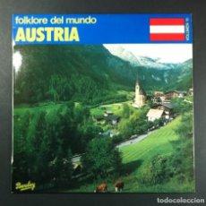 Discos de vinilo: VARIOS - FOLKLORE DEL MUNDO: AUSTRIA - LP 1981 - BARCLAY. Lote 253907090