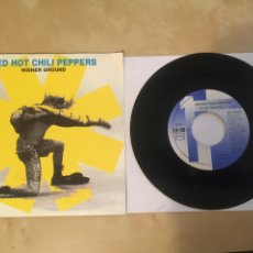 """Discos de vinilo: RED HOT CHILI PEPPERS - HIGHER GROUND - SINGLE RADIO PROMO 7"""" - 1992 SPAIN. Lote 253912860"""