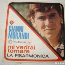 Discos de vinilo: LOTE 22 VINILOS DE MÚSICA POP ITALIANA AÑOS 60. SINGLES 45RPM. VINTAGE CON MAS DE 50 AÑOS. Lote 253913585