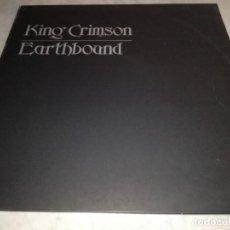 Discos de vinilo: KING CRIMSON-EARTHBOUND-EDICION ESPAÑOLA. Lote 253913695