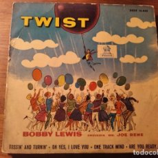 Discos de vinilo: BOBBY LEWIS - TOSSIN' AND TURNIN + 3 ***********RARO EP ESPAÑOL EARLY R&B BLACK ROCK & ROLL 1961. Lote 253915830