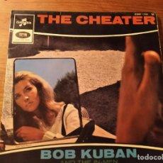 Discos de vinil: BOB KUBAN & THE IN MEN - THE CHEATER + 3 ***********RARO EP FRANCÉS MOD NORTHERN SOUL. Lote 253916255