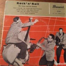 Discos de vinilo: BILL HALEY & HIS COMETS - ROCK AROUND THE CLOCK + 3 *********** RARO EP FRANCÉS. Lote 253916930