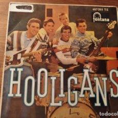 Discos de vinilo: LOS HOOLIGANS *********** SUPER RARO EP ESPAÑOL ROCK AND ROLL MEXICANO 1962. Lote 253918135