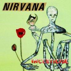 Discos de vinilo: NIRVANA INCESTICIDE LP VINILO NUEVO EDICIÓN NOT LABEL SIN USO.. Lote 253919960