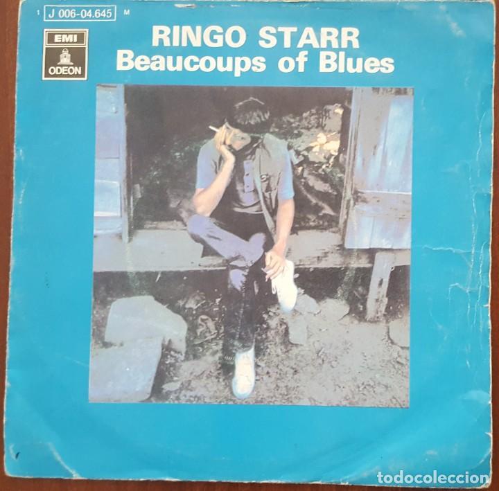 SINGLE / RINGO STARR - BEAUCOUPS OF BLUES, 1970 (Música - Discos - Singles Vinilo - Pop - Rock - Internacional de los 70)