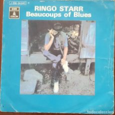 Discos de vinilo: SINGLE / RINGO STARR - BEAUCOUPS OF BLUES, 1970. Lote 253923540