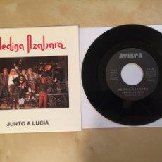 "Discos de vinilo: MEDINA AZAHARA - JUNTO A LUCIA - SINGLE RADIO 7"" - 1993. Lote 253927585"