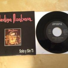 """Discos de vinilo: MEDINA AZAHARA - SOLO Y SIN TI - SINGLE RADIO 7"""" - 1993. Lote 253927975"""