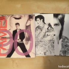 Discos de vinilo: DAVID BOWIE - FAME EXCLUSIVE CHANGES PACK CON 3 FOTOGRAFÍAS EDICIÓN LIMITADA 1990 EMI. Lote 253928785