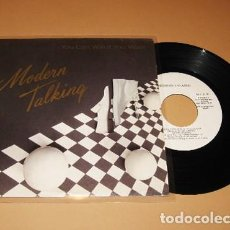 Discos de vinilo: MODERN TALKING - YOU CAN WIN IF YOU WANT - PROMO SINGLE - 1985. Lote 253934515