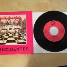 """Discos de vinilo: REINCIDENTES - LA HISTORIA SE REPITE / VOTA NADIE SINGLE RADIO 7"""" - 1992. Lote 253934880"""