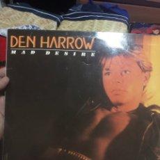 Discos de vinilo: DEN HARROW . MAD DESIRE 1984 .. Lote 253935575