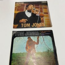 Discos de vinilo: TOM JONES 2 VINILOS 1967 BUEN ESTADO PROBADOS.(3,33 ENVÍO CERTIFICADO). Lote 253936400