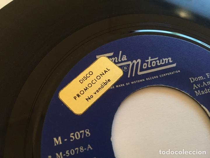 """Discos de vinilo: Stevie Wonder (En Español) - Por Primera Vez / Un Lugar En El Sol - PROMO SINGLE RADIO 7"""" - 1970 - Foto 2 - 253937025"""