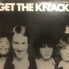 Discos de vinilo: GET THE KNACK PROMO 1979 ROK N ROLL BUENO. Lote 253937565