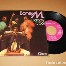 Discos de vinilo: BONEY M. - DADDY COOL - SINGLE - 1976. Lote 253939330