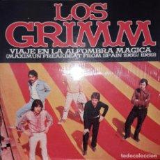 """Discos de vinilo: MINI L.P. 10"""" - LOS GRIMM 'VIAJE EN LA ALFOMBRA MÁGICA' (SPAIN 1965-66) - ELECTRO HARMONIX. Lote 253952925"""