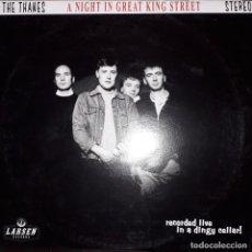 "Discos de vinilo: MINI L.P. 10"" - THE THANES 'A NIGHT IN GREAT KING STREET' (GARAGE REVIVAL-LARSEN 2007). Lote 253955275"