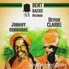Discos de vinilo: JOHNNY OSBOURNE, DEVON CLARKE – MUSICAL SHOT EP -NUEVO. Lote 253957345