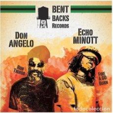 Discos de vinilo: ECHO MINOTT, DON ANGELO – MR BAD BOY EP - NUEVO. Lote 253957610