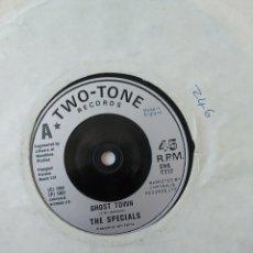 Discos de vinilo: THE SPECIALS- GHOST TOWN,TWO TONE RECORDS,VG. Lote 253959675