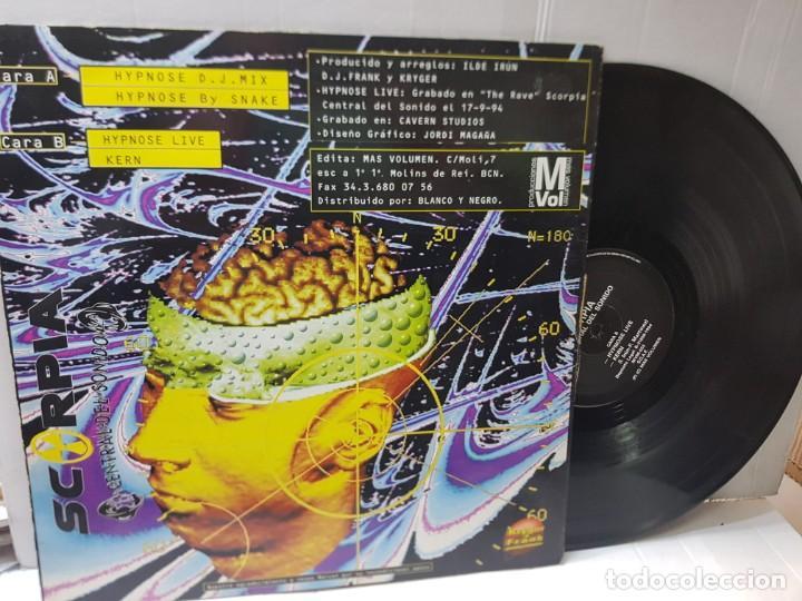 Discos de vinilo: DISCO MAXI SINGLE 33-SCORPIA-HYPNOSE- en funda original 1994 - Foto 2 - 253965735