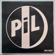 Discos de vinilo: PIL. BAD LIFE/ QUESTION MARK. VIRGIN, SPAIN 1984. Lote 253970150