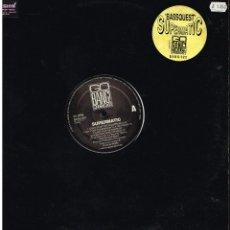 Discos de vinilo: SUPERMATIC - BASSQUEST - MAXI SINGLE 1992 - ED. HOLANDA. Lote 253972475