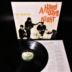 Discos de vinilo: THE BEATLES – A HARD DAY'S NIGHT – ONE OF THE LAST IN PERFECT CONDITION. Lote 253975815