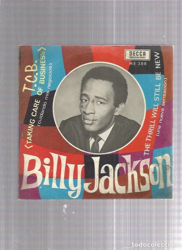 BILLY JACKSON T.C.B. (Música - Discos - Singles Vinilo - Jazz, Jazz-Rock, Blues y R&B)