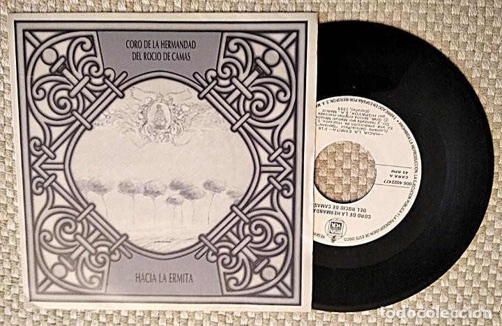 Discos de vinilo: Lote de 2 discos: Hacia la Ermita, Coro Rociero Hermandad del Rocío de Camas, y Jotas Aragonesas - Foto 2 - 253982390