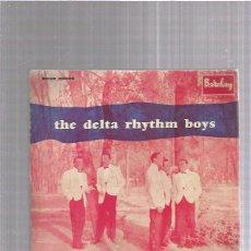 Discos de vinilo: DELTA RHYTHM BOYS SIXTEEN TONS. Lote 253982685