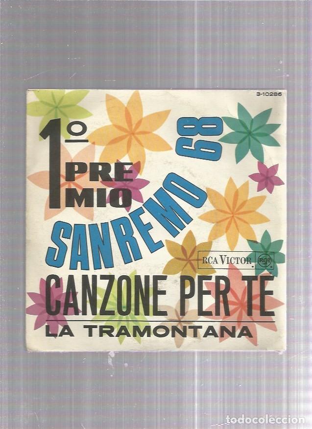 ANNA RITA CANZONE PER TE (Música - Discos - Singles Vinilo - Canción Francesa e Italiana)